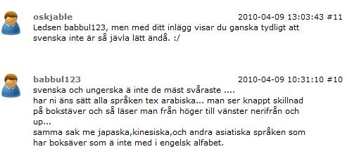 Svenska språket