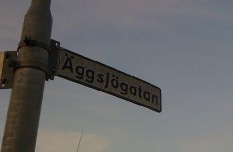 Äggsjögatan i Kolbäck