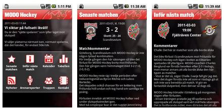 Modo-App för Android