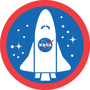 Nasa Badge