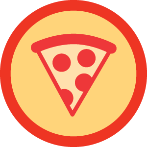 Pizza Badge - Foursquare