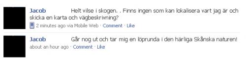 Facebook vilse