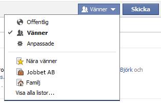 FB-listor