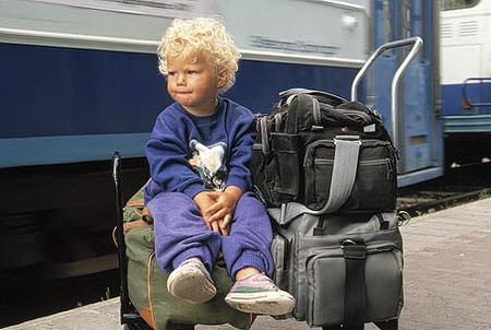 Pojke på bagage